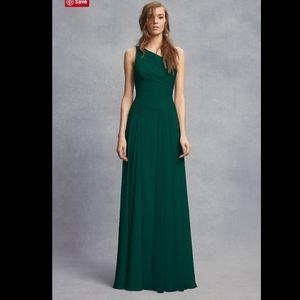 VERA WANG Sheer Strap 1 Shoulder Sheath Dress. 20